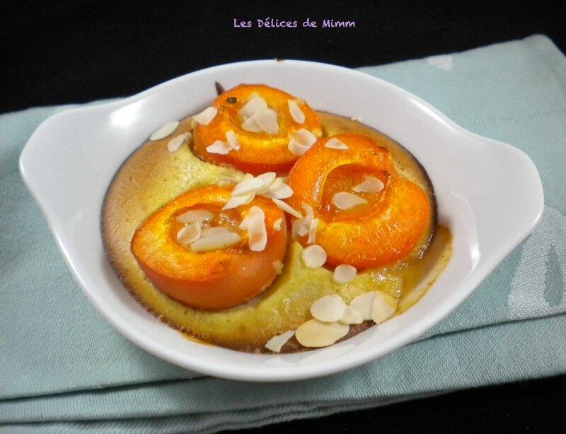 Petits gratins abricots-amandes 3