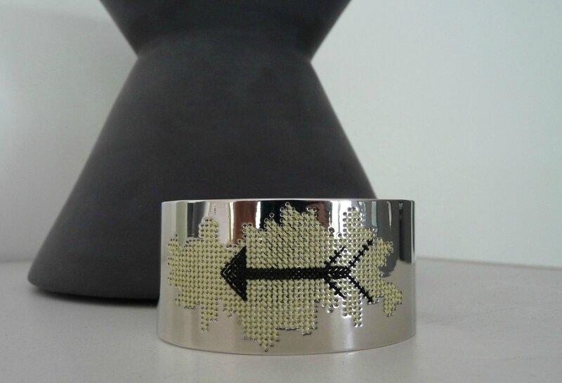 bracelet manchette arrow