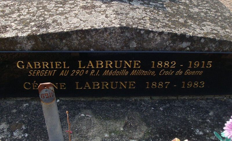 La Châtre 14-18 (38) mort le 3 septembre au Havre
