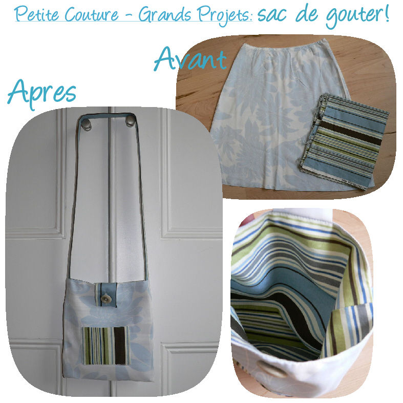 Petite couture - Grand projet