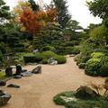 Le jardin zen.