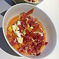 Salmorejo de cordoue (soupe froide à la tomate espagnole)