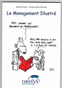 couverture Le management illustré