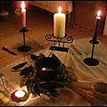 Bougie mystique du voyant medium magicien assou pour réaliser ses vœux de nouvel an