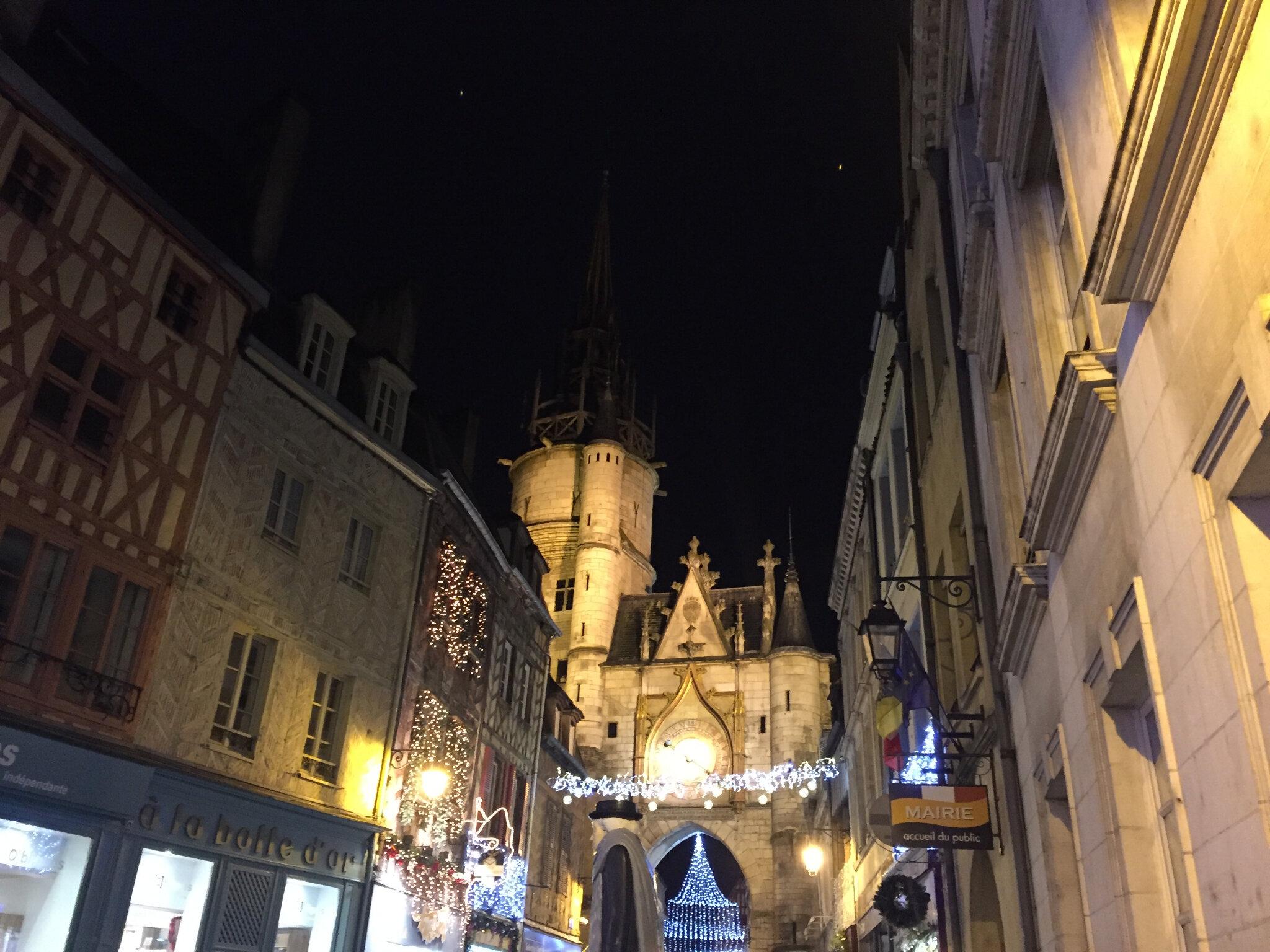 Décembre 2017 : Week-end en Bourgogne...