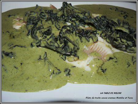 Filets de truite + choucroute et pintade 011