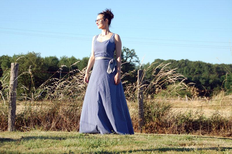 Maud robe longue bapteme M 11