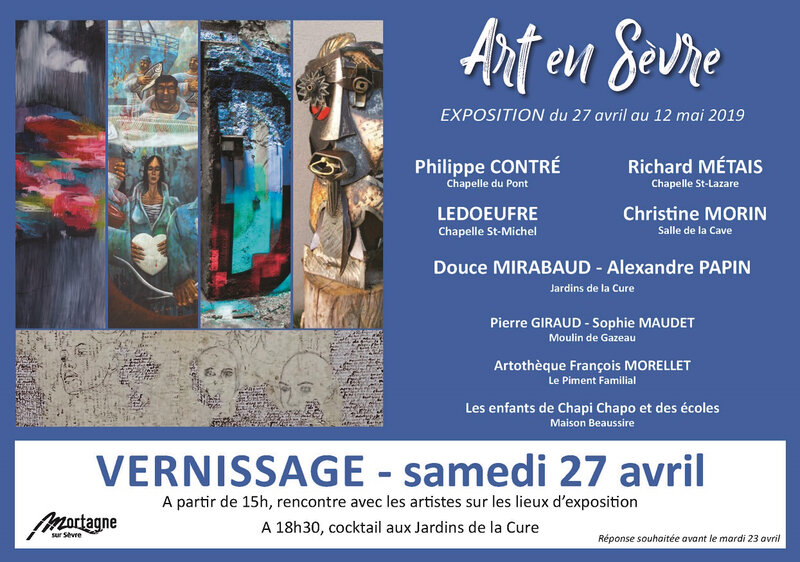 Vernissage Art en Sèvre 2019