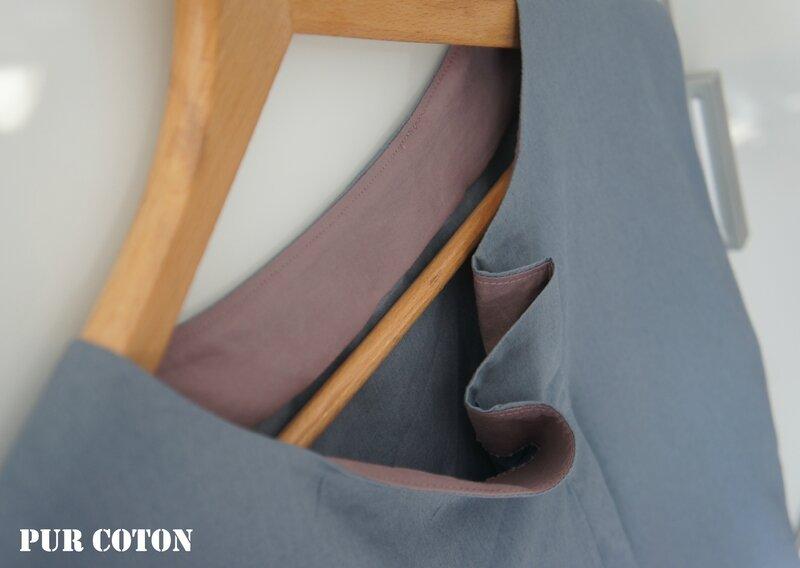 Top Fauve 5 Maison Victor PUR COTON