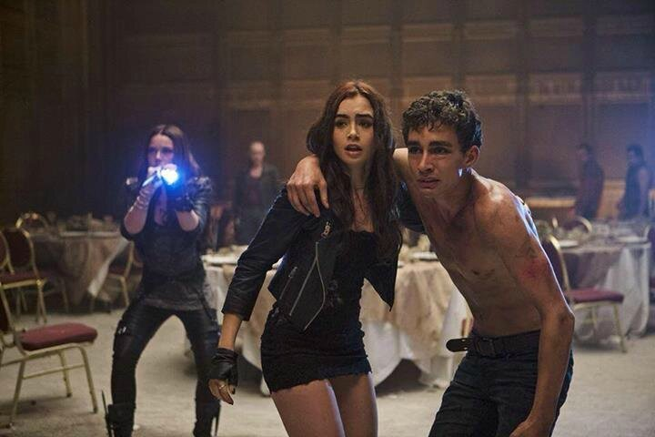 Clary and Simon The Mortal Instruments movie