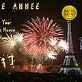 Bonne annee 2017 / happy new year 2017