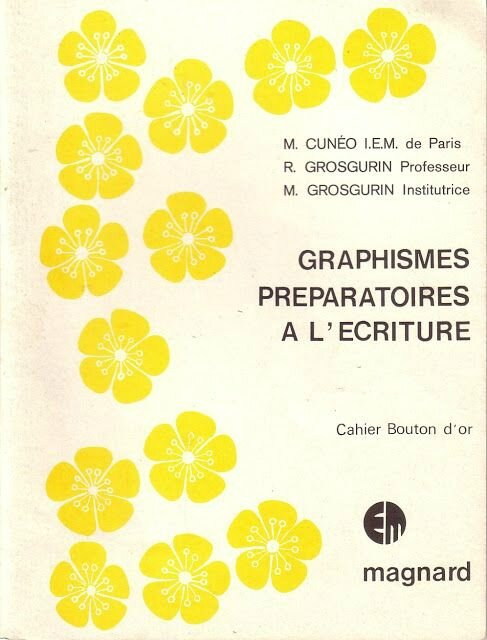 cahier bouton d'or