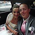 bouquet mariage original tissu blanc rose gris argent Anne Sophie (1)