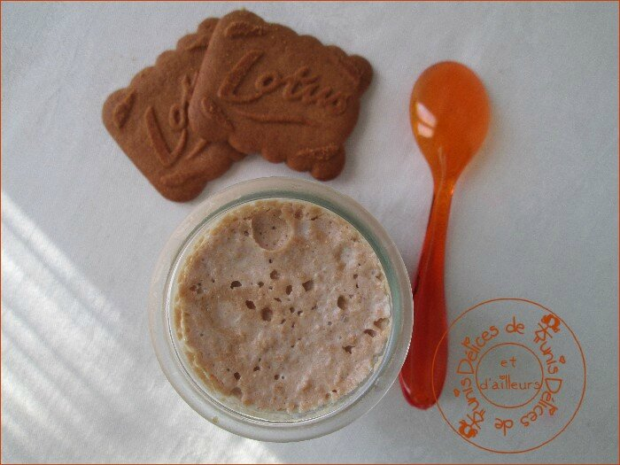 yaourt maison aux biscuits speculoos 2