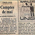 Henri fiszbin et mai 68