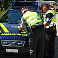 Vaste opération de contrôle transfrontalière entre la france et la suisse
