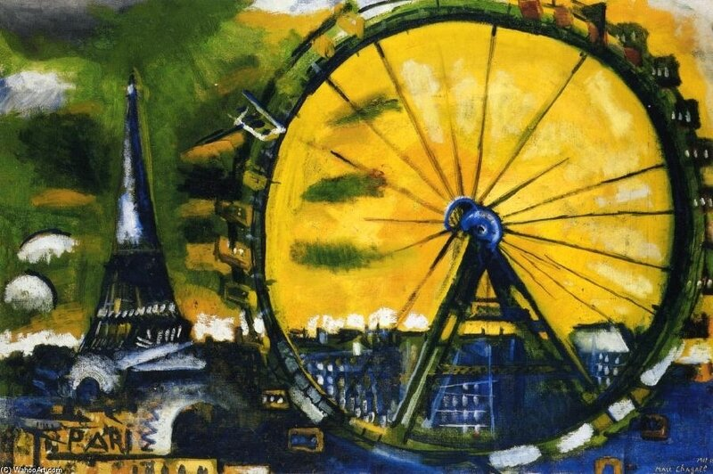 Marc-Chagall-The-Big-Wheel