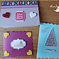 Cartes Home Made Fêtes 2015 17