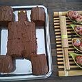 Anniversaire koh lanta #2 : le gâteau et autres sucreries