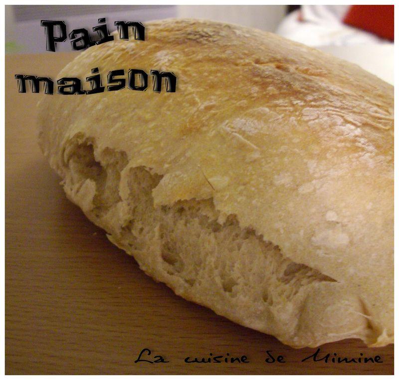 Pain Maison Facile Sans Map La Cuisine De Mimine