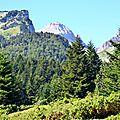 Tourelles et Pic d'Anie depuis Ichèus...