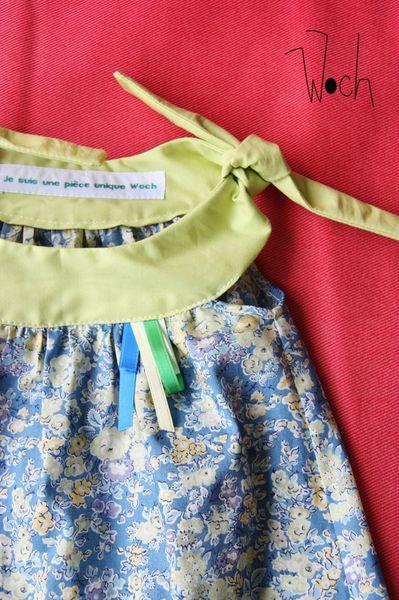 Woch - Ensemble robe bloomer Clémentine Liberty 2