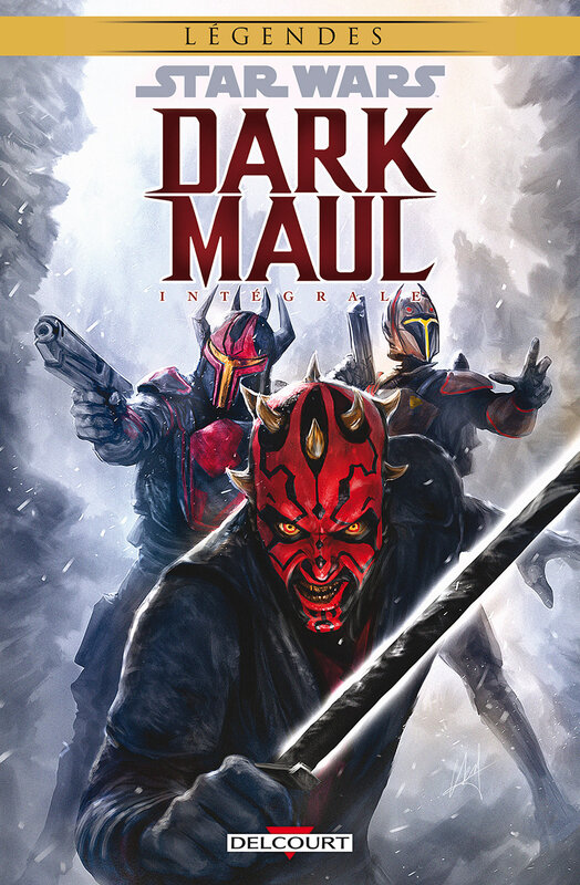 delcourt dark maul intégrale