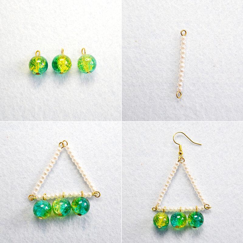 PandaHall-Tutorial-on-Making-Acrylic-Triangle-Earrings-2