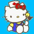HELLO KITTY EN INFIRMIERE 2