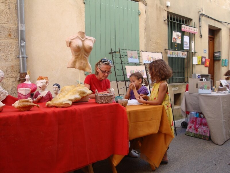 Le stand de Mireille