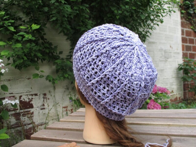 Bonnet simple en fil coton (13)
