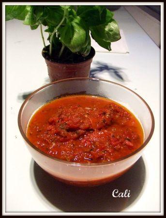 Sauce Tomate Maison, avec Morceaux 003