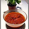 Sauce tomate maison, avec morceaux