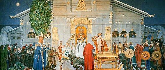 Fresque de Carl Larsson