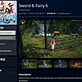 Sword Fairy 6 PS4