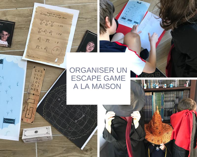Organiser un escape game à la maison ©Kid Friendly