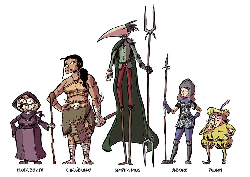 personnages 3