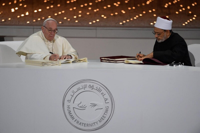 APOSTOLIC JOURNEY OF HIS HOLINESS POPE FRANCIS TO THE UNITED ARAB EMIRATES-ARABIC VERSION-