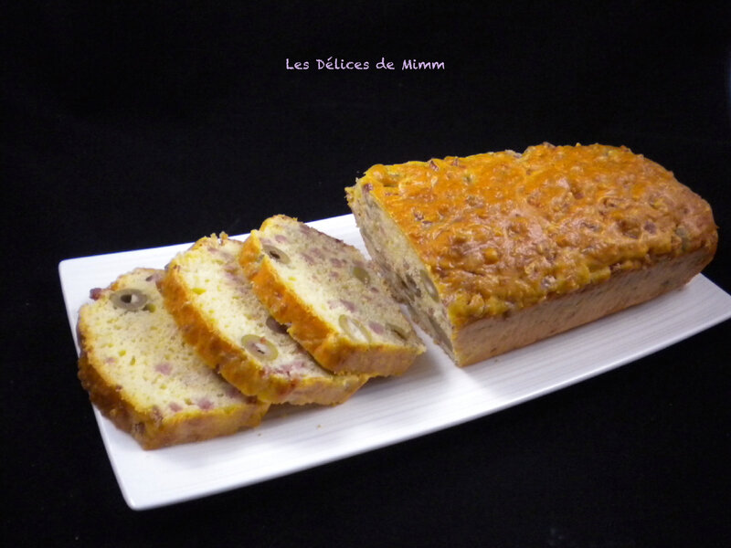 L'incontournable cake aux olives 5