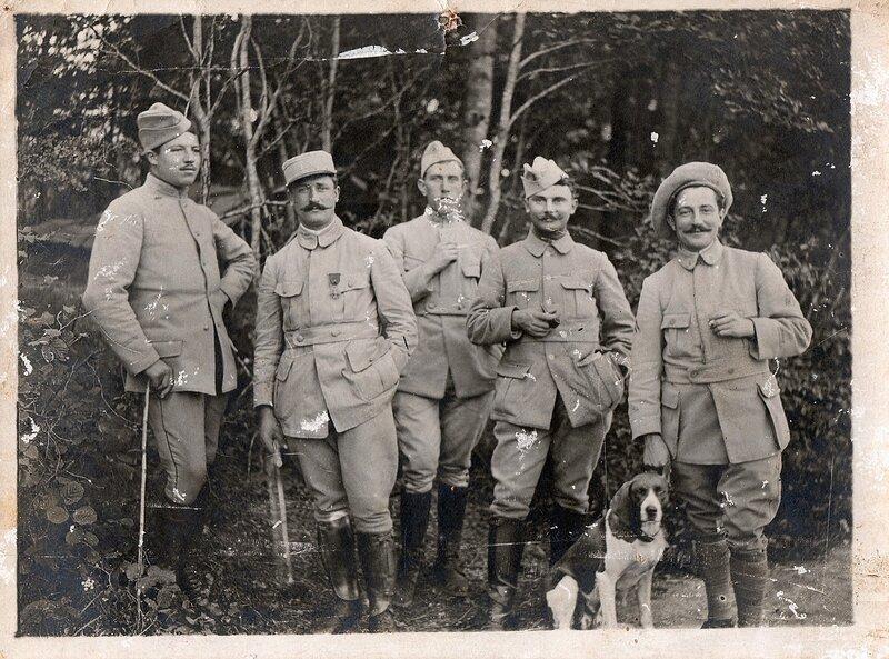 293 Seguin popote des 19 et 20ème 08-1916 devant
