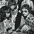 Mick Jagger, Keith Richard, Bob Dylan par Gered Mankowitz