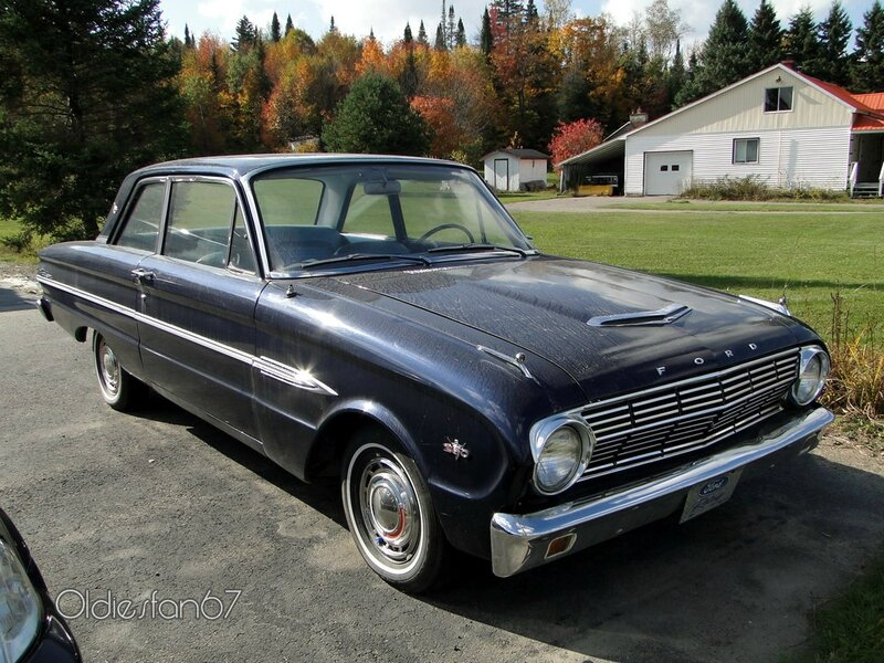 ford falcon futura 2door sedan 1963 a