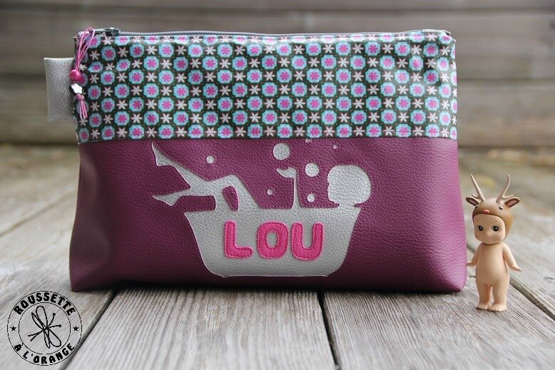 Trousse toilette Lou Recto