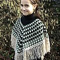 Poncho ultra facile au crochet