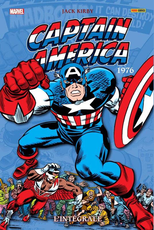 intégrale captain america 1976