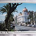 Nice - Le Negresco - la promenade des Anglais