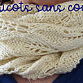 Snood dentelle