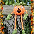 Russet the pumpkin - phoenixknits