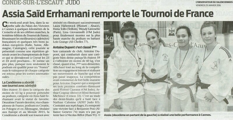 20160129 Article Tournoi de France