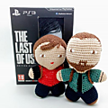 #crochet : #amigurumi eli et joel, the last of us #tlou